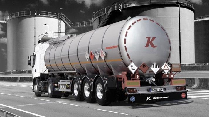 Cisterne pentru mărfuri periculoase