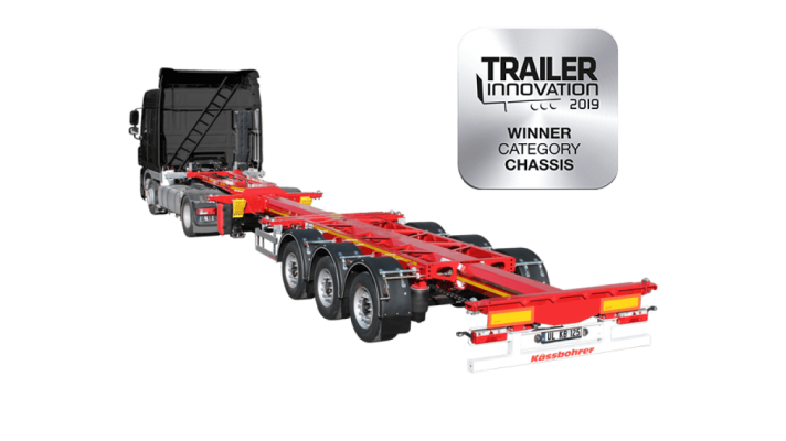 Front-Middle-Rear Extendable Multifuntional Container Chassis