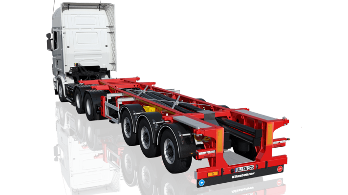 Tank Container Chassis