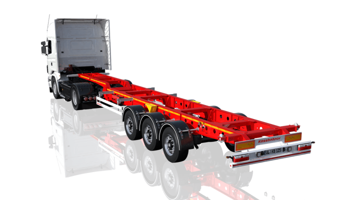 Ultralight container chassis