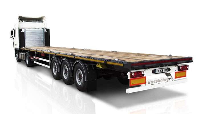 Light Open Chassis Semi Trailer